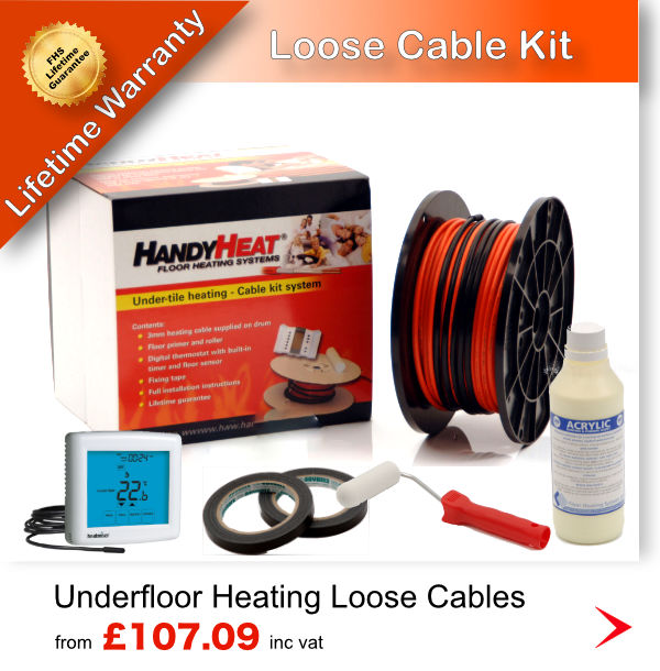 Electric Underfloor heating cable