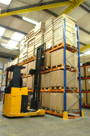 Our 7166sq feet warehouse in Hucknall