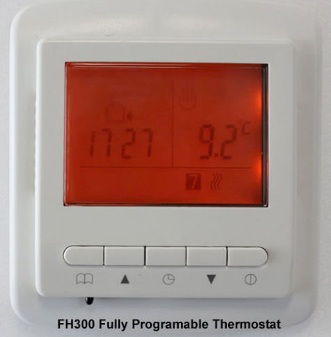 programable thermostat for underfloor heating